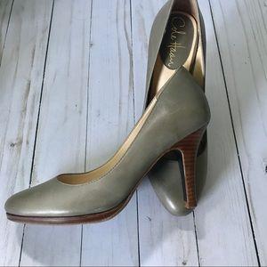 Cole Haan Nike Air Taupe heels